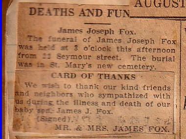 James Joseph Fox