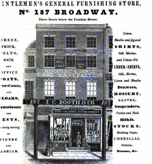 NYC Storefront in 1845