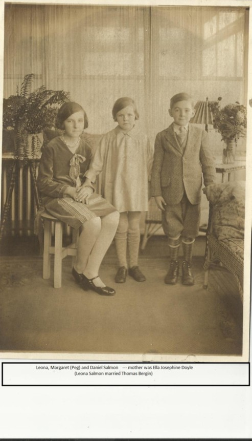 Daniel Salmon & Ella Doyle Children from Bristol, Connecticut