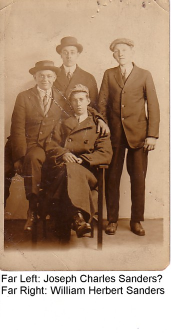 Sanders, William, Joseph? &amp; two others: New Britain, Connecticut