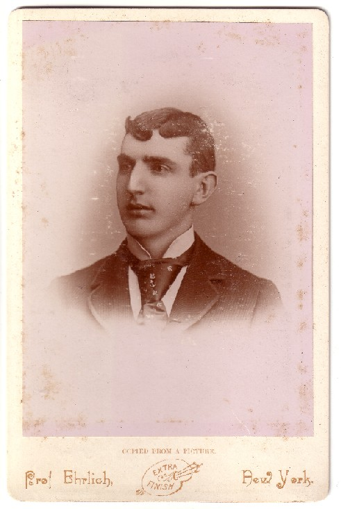 Sanders - Fryher Photo - cabinet card - unknown subject