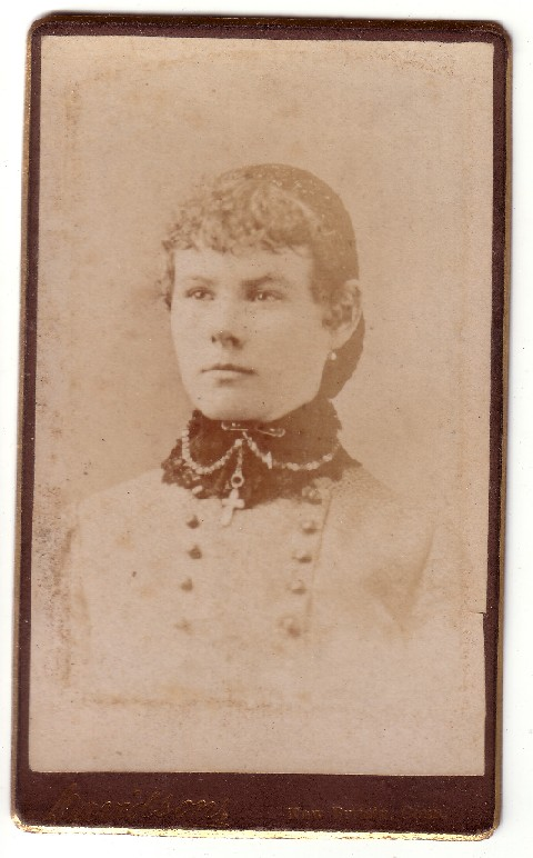 Sanders - Fryher Photo - carte-de-visite - prior to 1900
