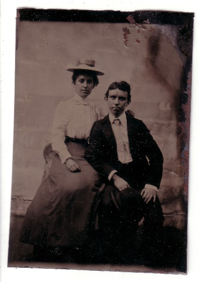 Sanders - Fryher Photo - tin type - prior to 1900