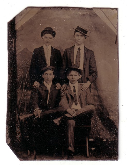 William Alfred Sanders, James Joseph Sanders, ?,  ?