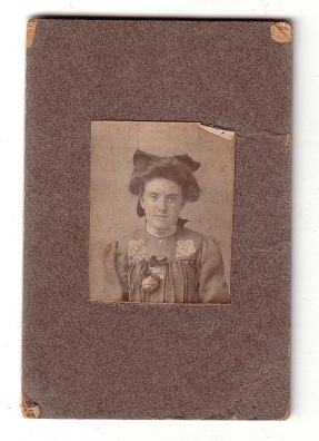 Sanders - Fryher Photo - Tin Type Photo - Patrick Fryher-Fraher - Sarah Hayes - before 1900