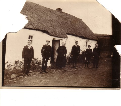 Irish House with Thatched Roof - Unknown Foxes